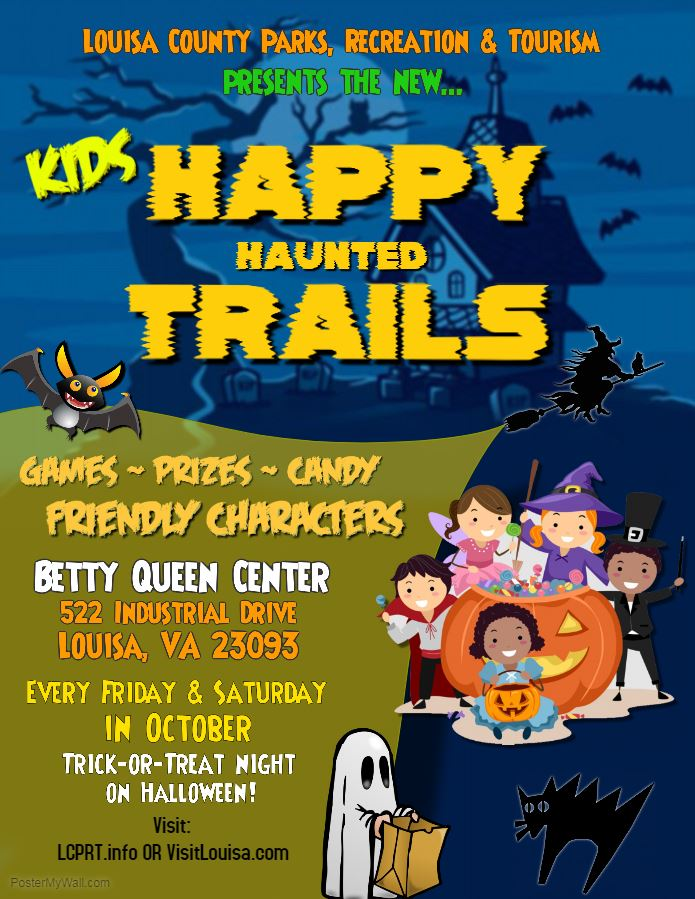 Happy Haunted Trails for KIDS