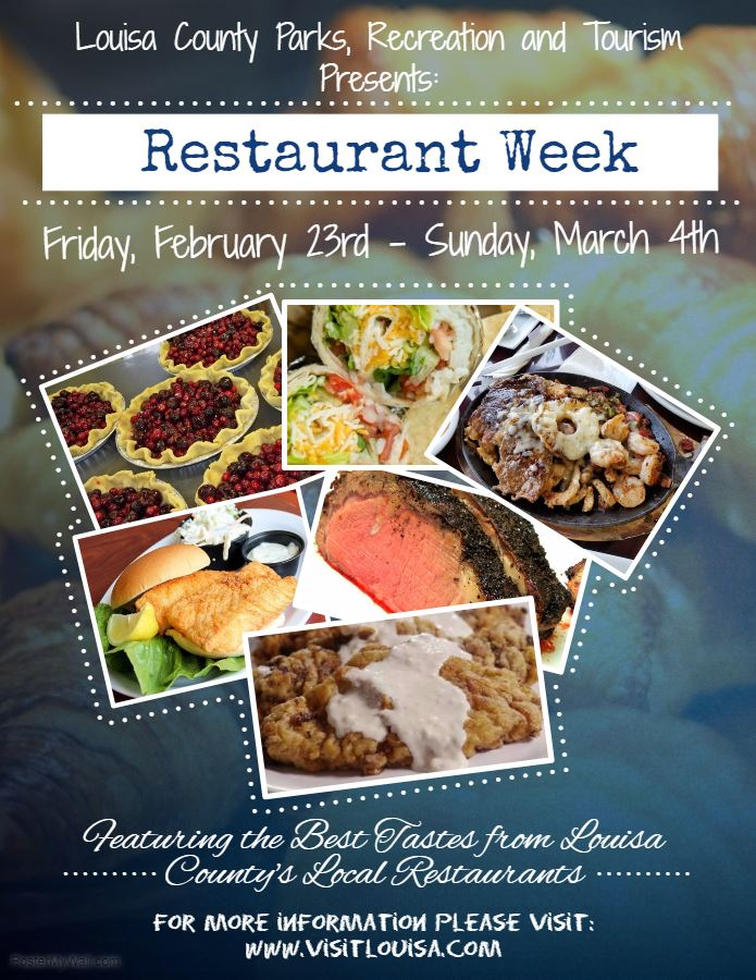 Louisa County Restaurant Week