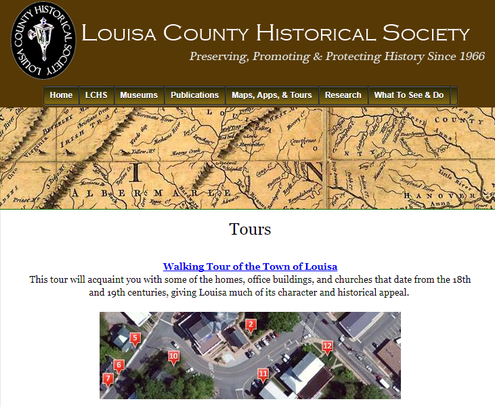 Town of Louisa Walking Tour