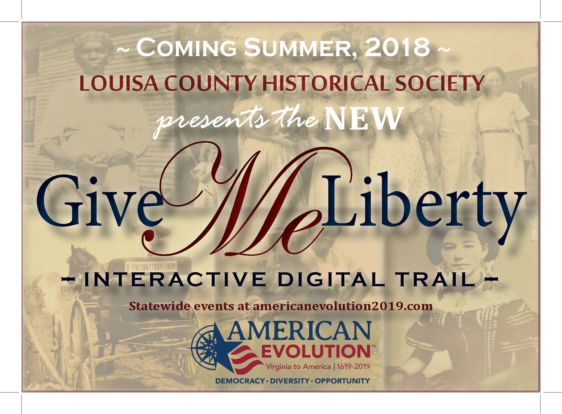 """Give Me Liberty"" Digital Trail"