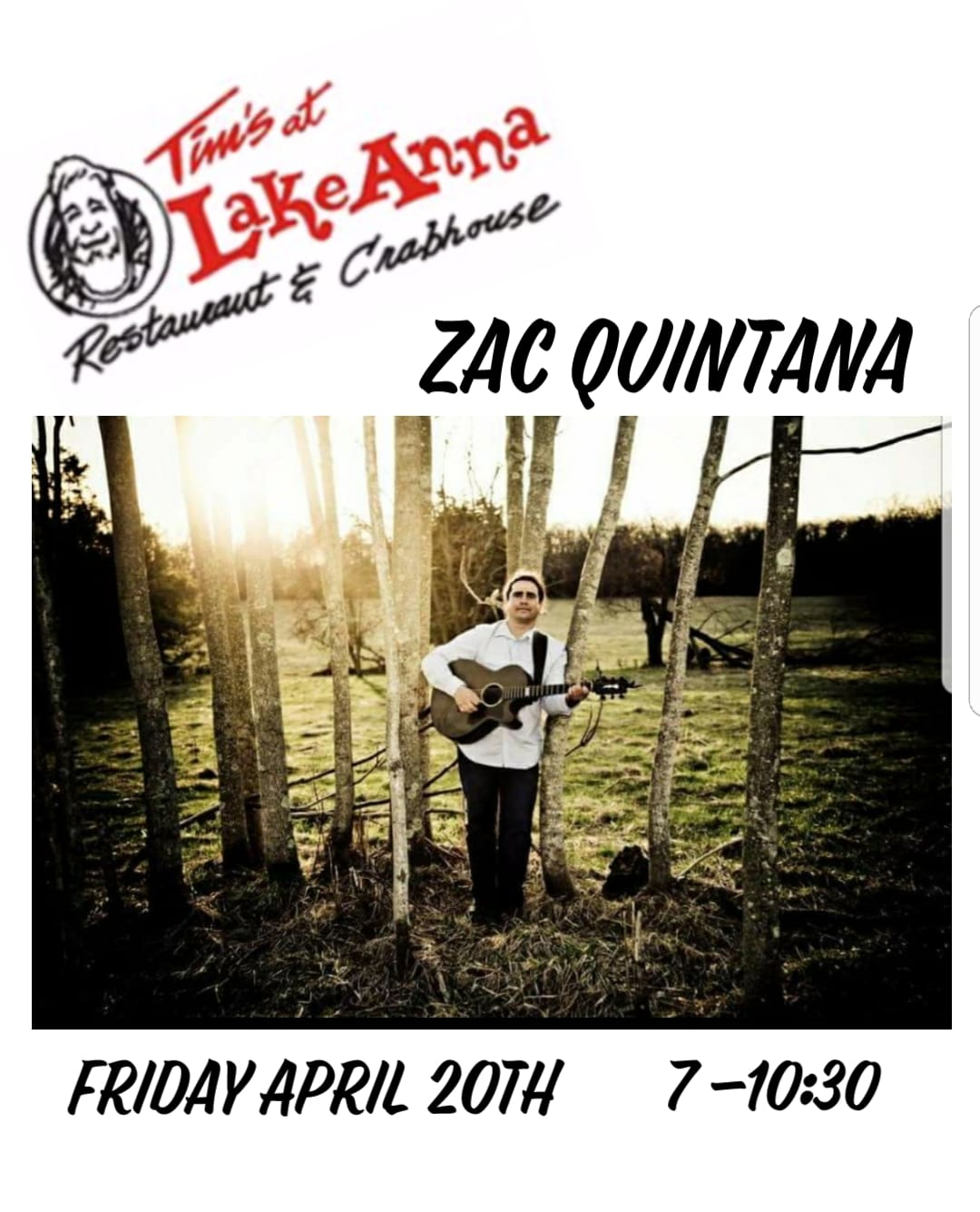 Music by Zac Quintana - Tim's at Lake Anna