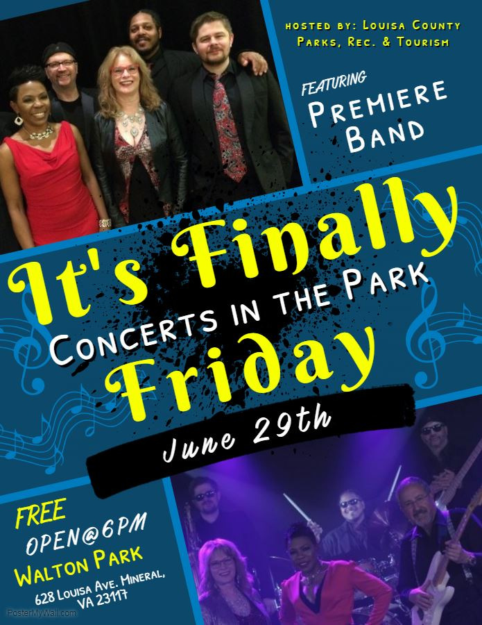 It's Finally Friday: Concerts in the Park