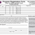 Program Registration Form (PDF)