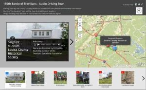 Battle of Trevilians Audio Driving Tour