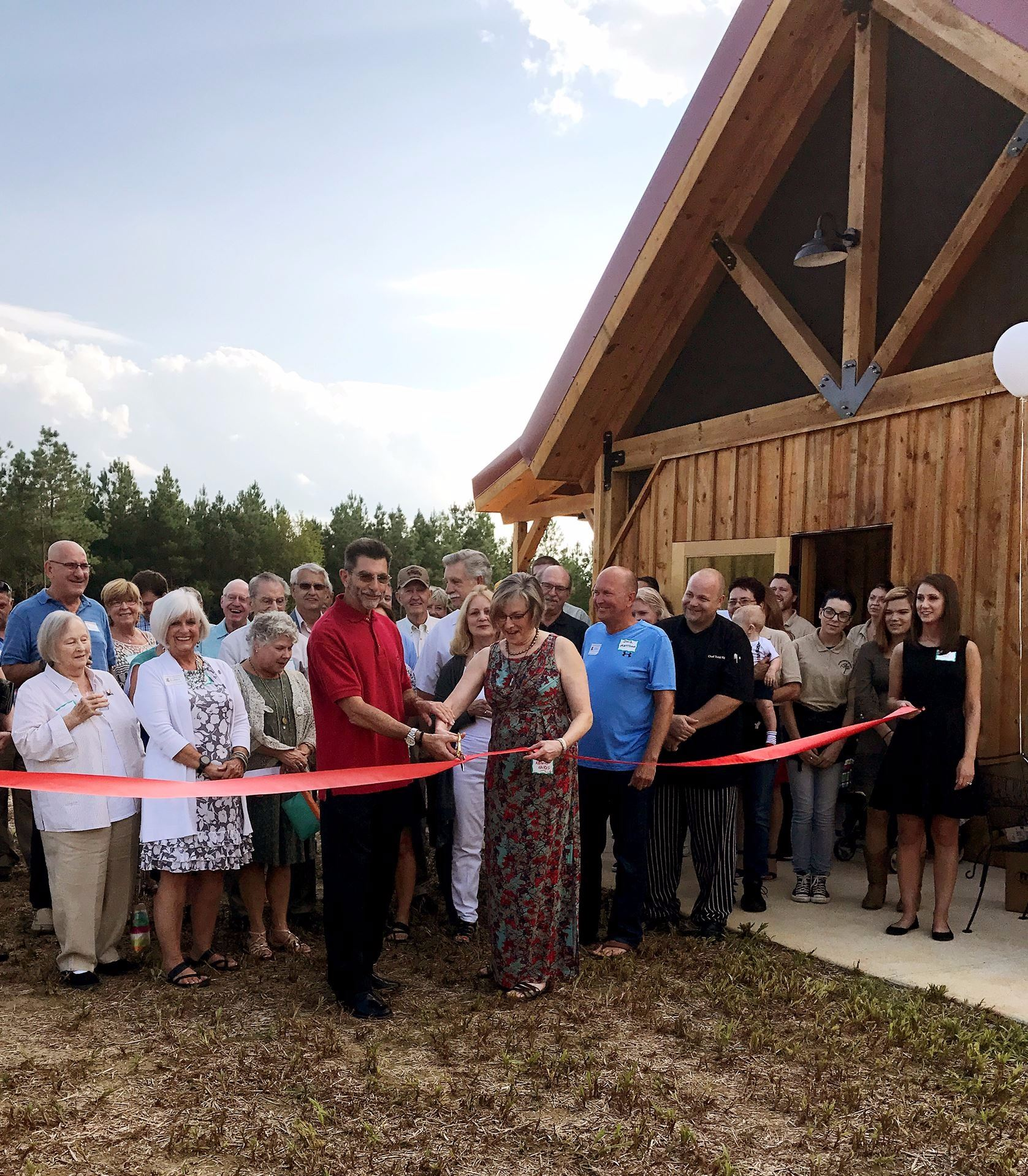 Callie Opies Ribbon Cutting