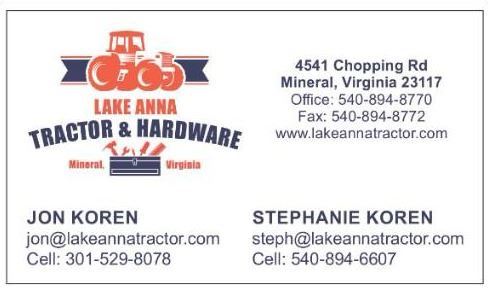 Lake Anna Tractor and Hardware