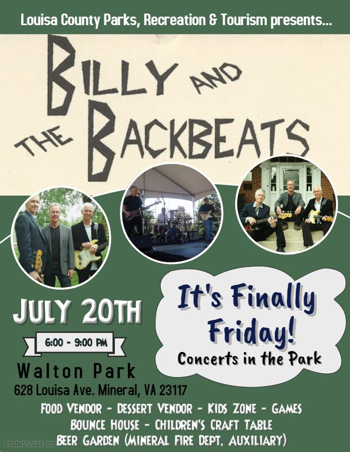 Billy and the BackBeats Flyer